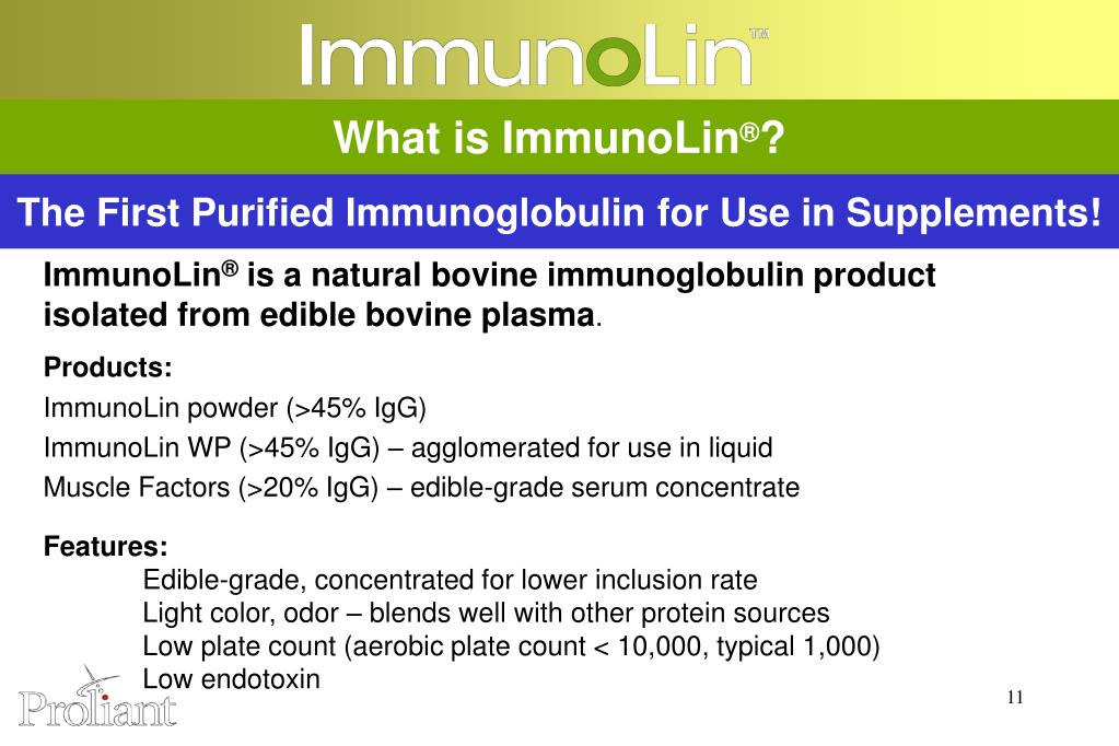 What is ImmunoLin