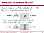 operational performance measures11