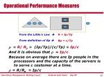 operational performance measures13