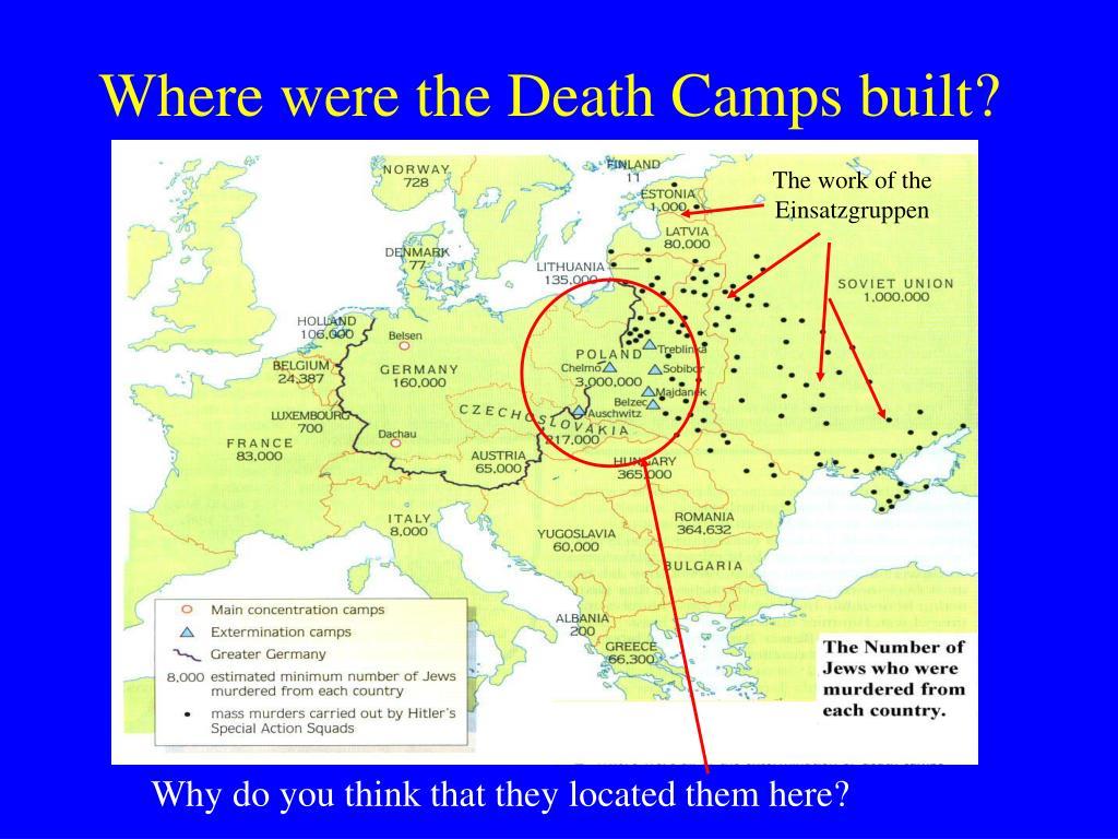 The work of the Einsatzgruppen