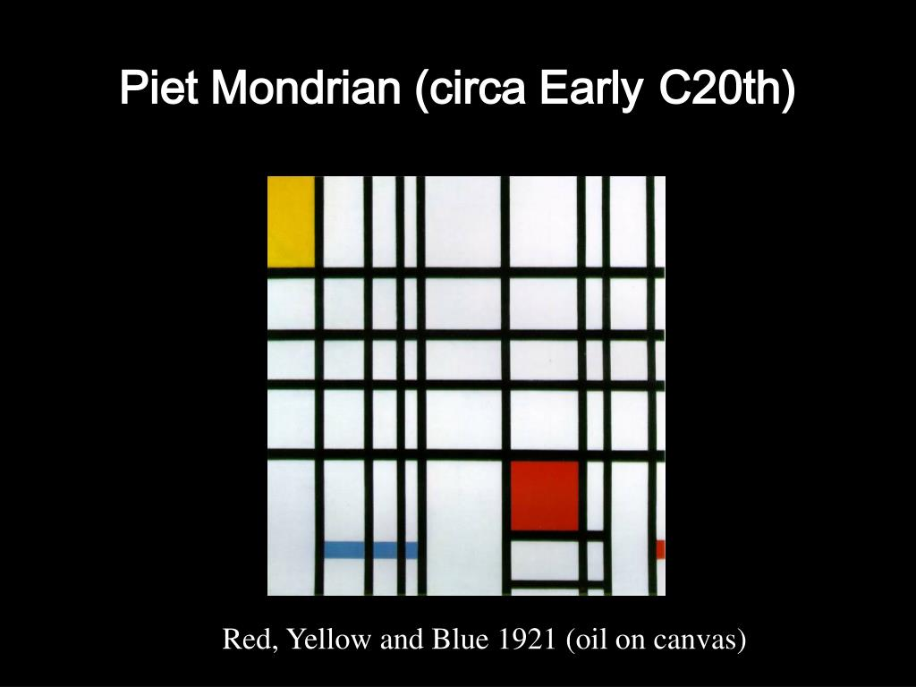 Piet Mondrian (circa Early