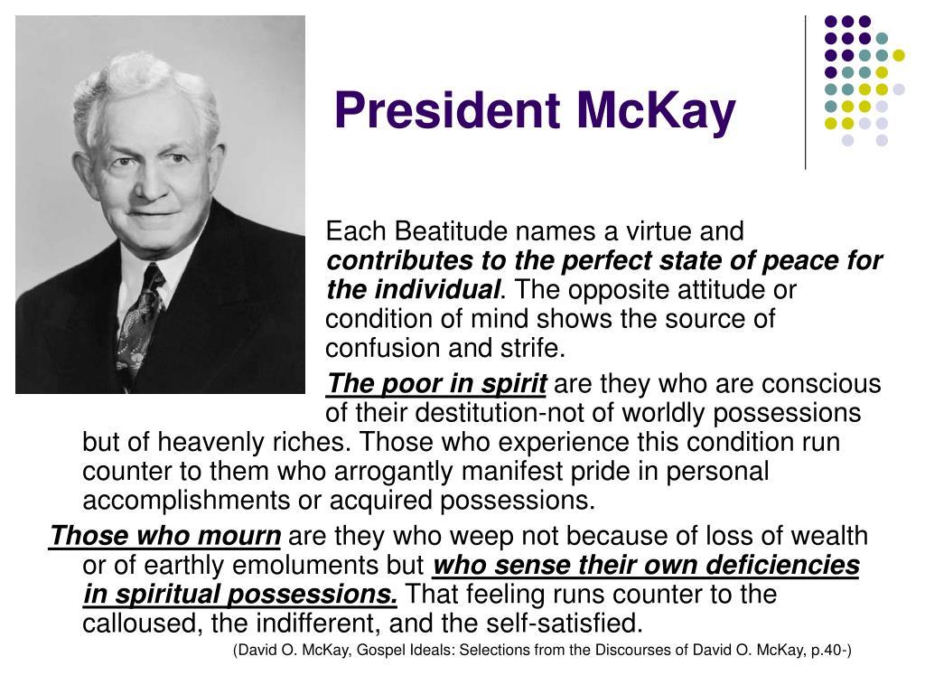 President McKay