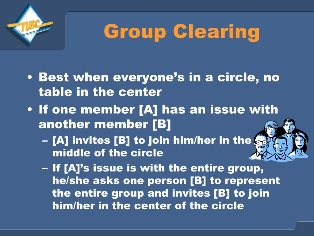 Group Clearing