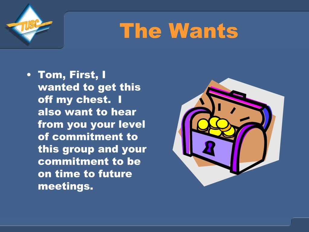 The Wants