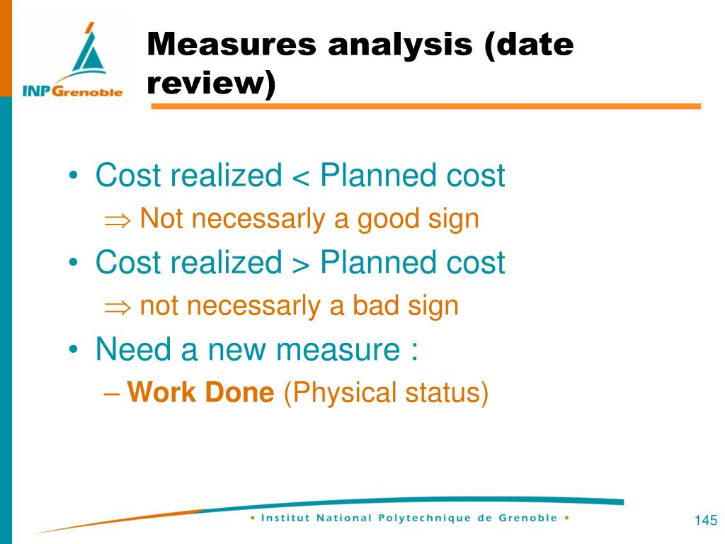 Measures analysis (date review)