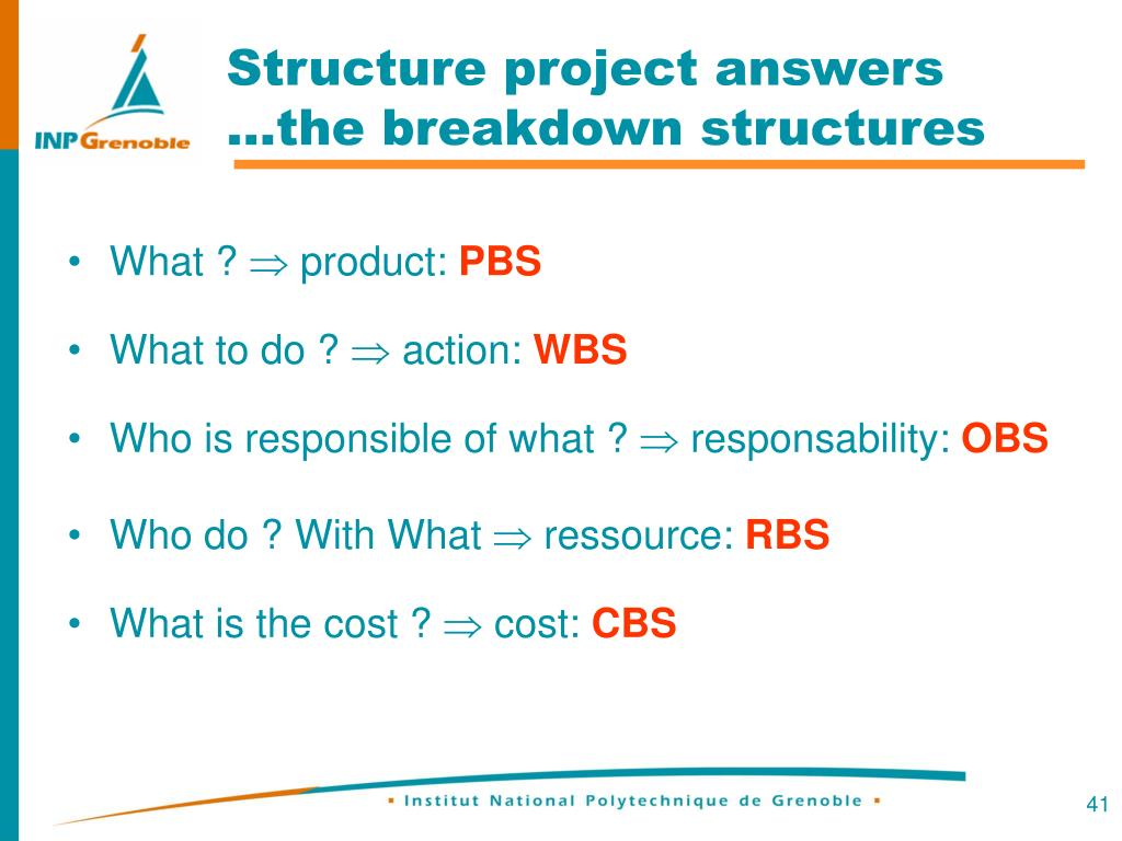 Structure project answers