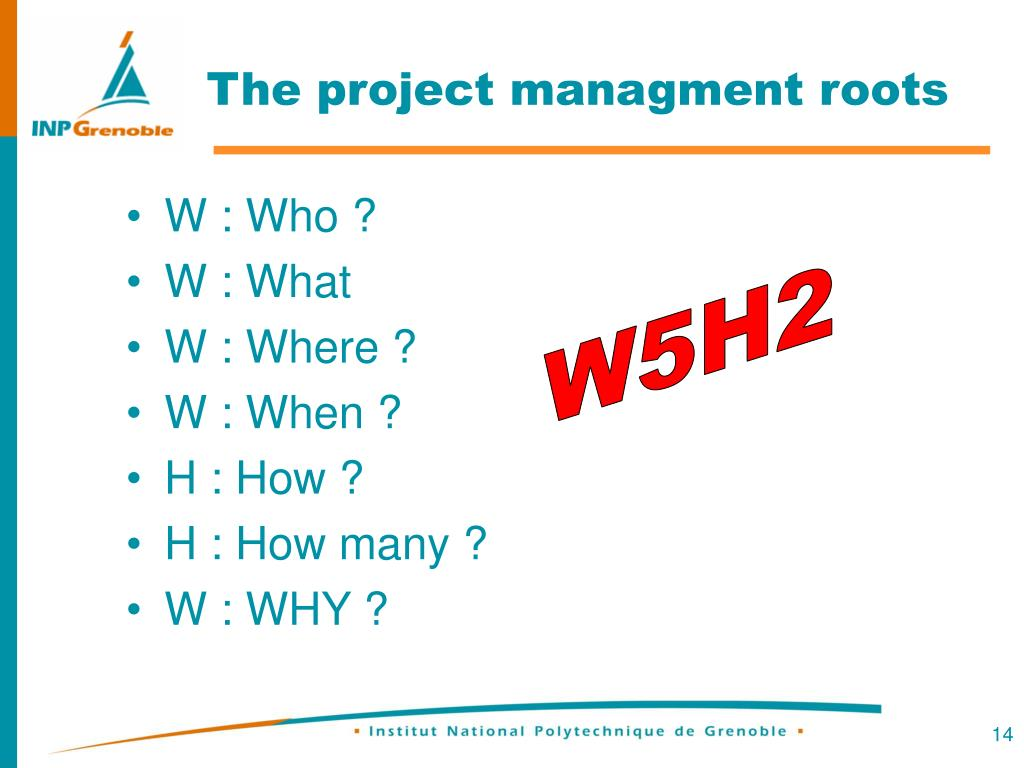 The project managment roots