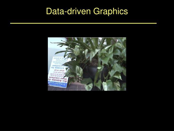 Data-driven Graphics