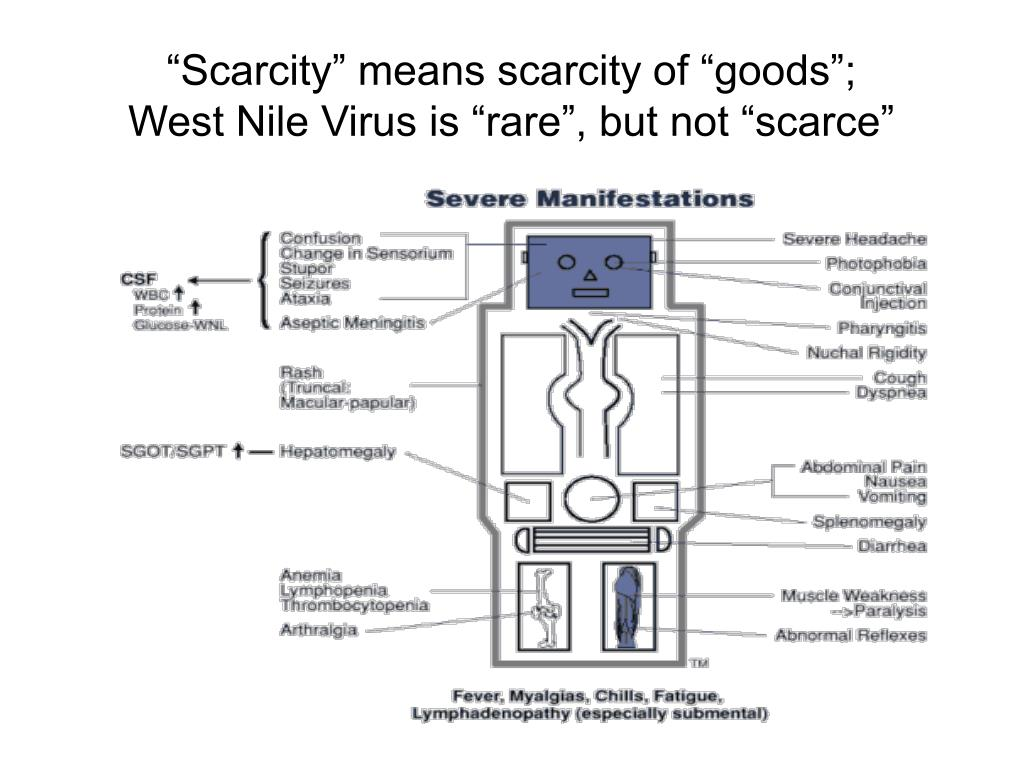 """Scarcity"" means scarcity of ""goods"";"