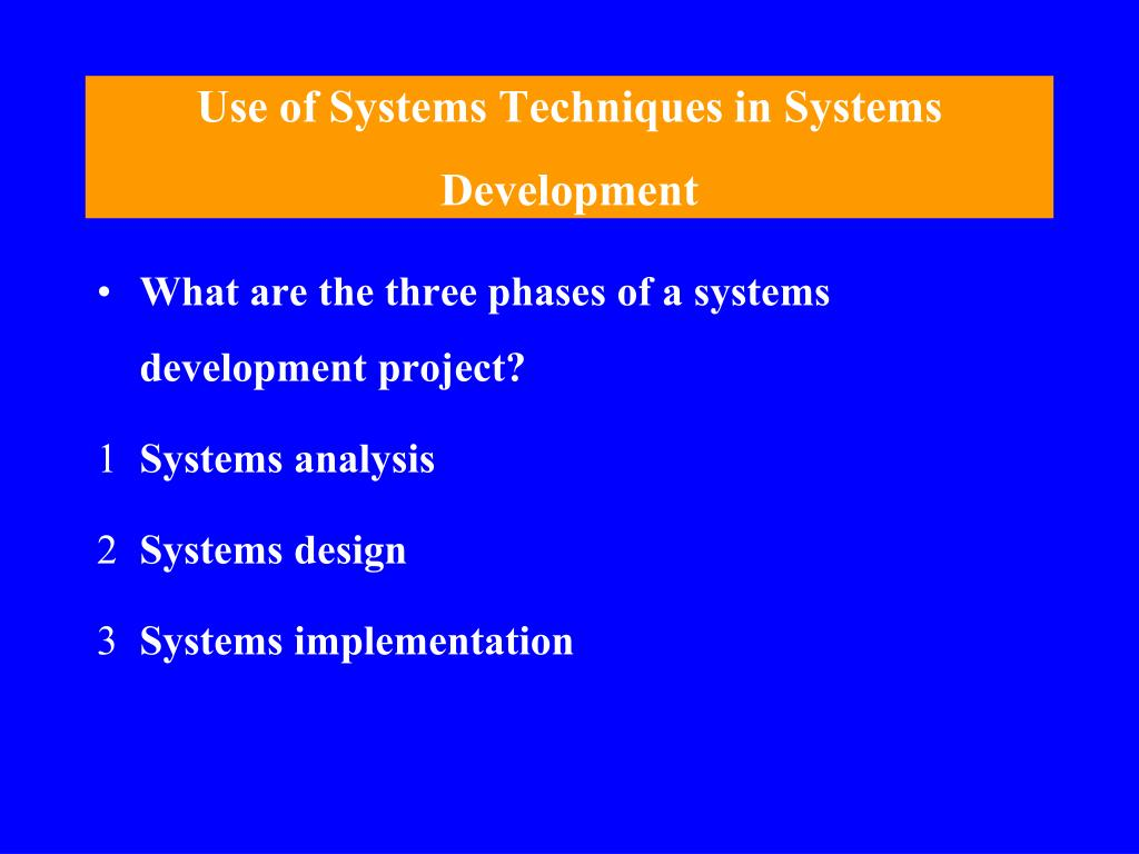 systems development and documentation techniques Documentation throughout the software development lifecycle by generating the majority of the system documentation that you because it shows how agile modeling and agile database techniques fit into the overall.