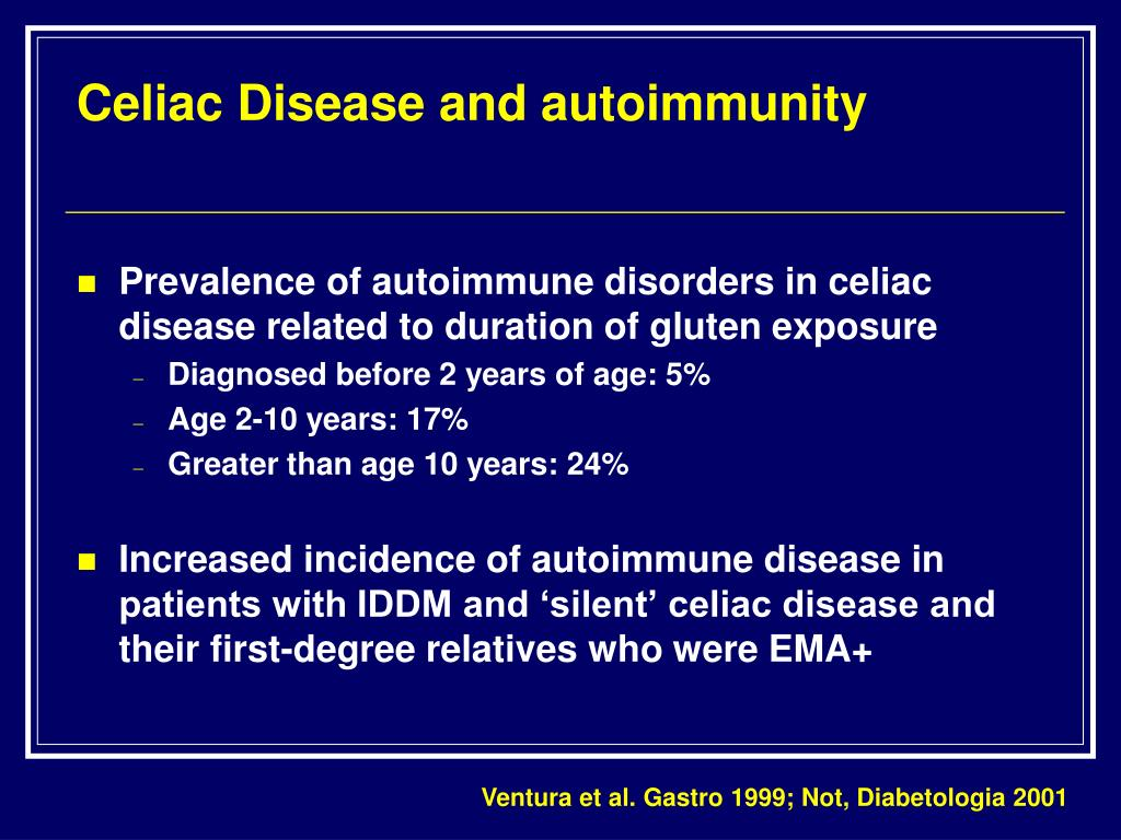 Celiac Disease and autoimmunity