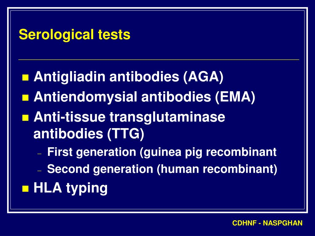 Serological tests
