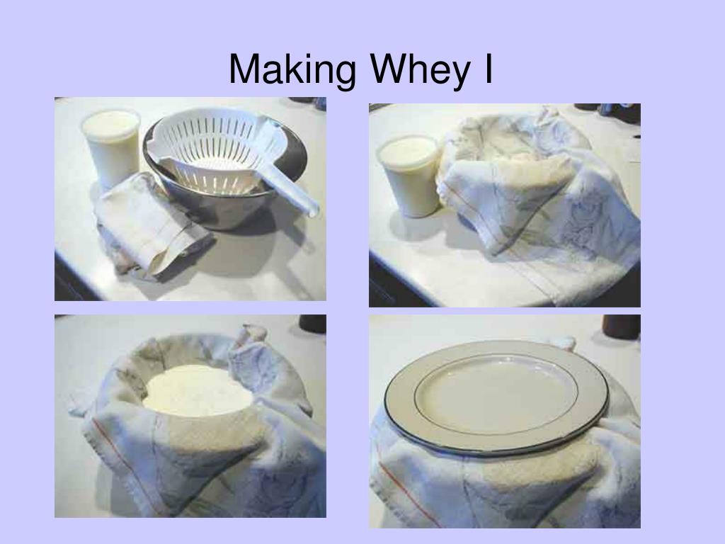 Making Whey I