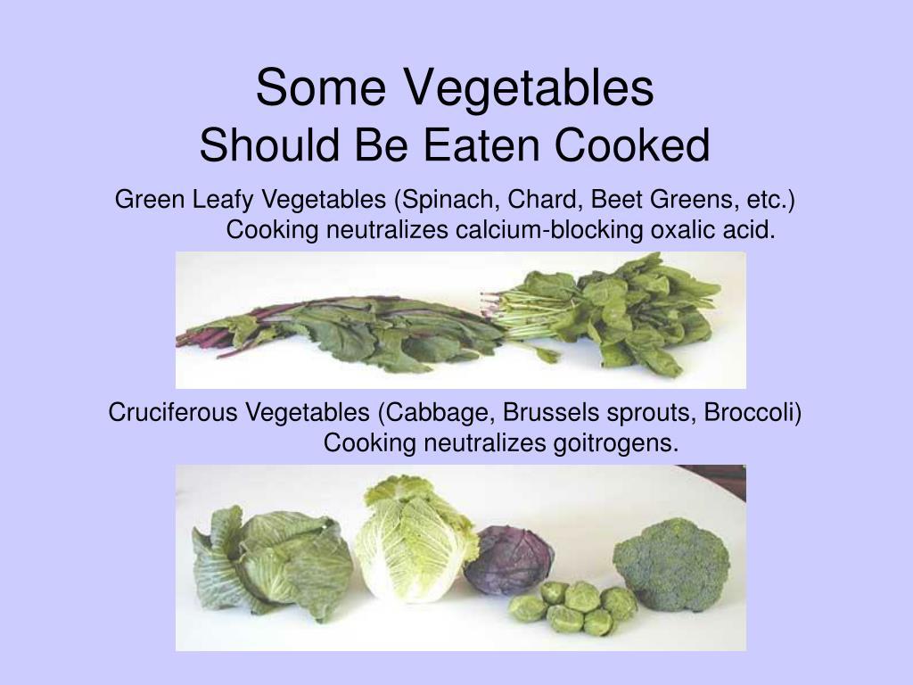 Some Vegetables