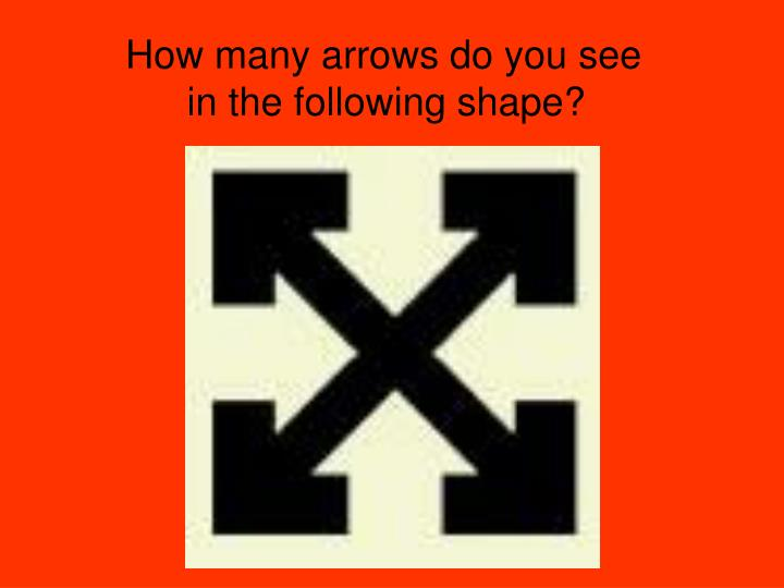How many arrows do you see