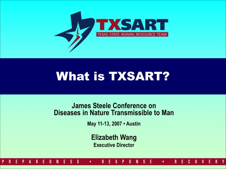 What is txsart