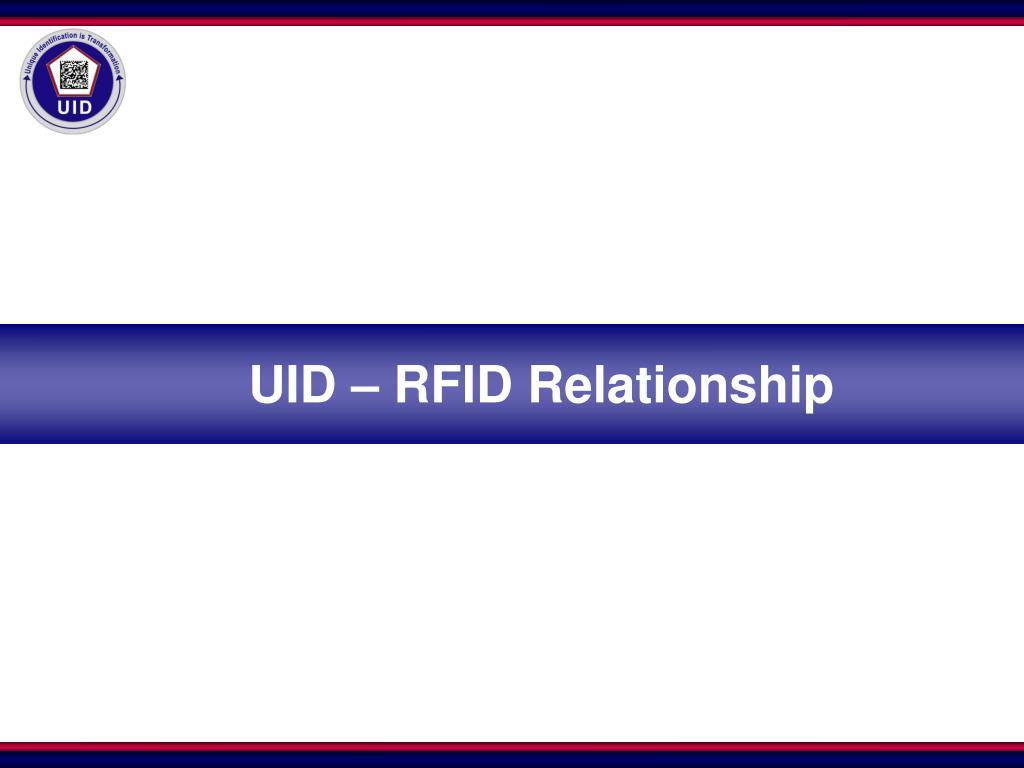 UID – RFID Relationship