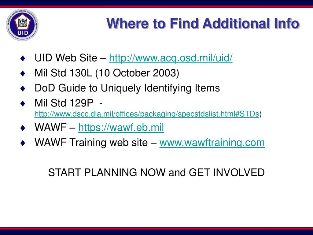 Where to Find Additional Info
