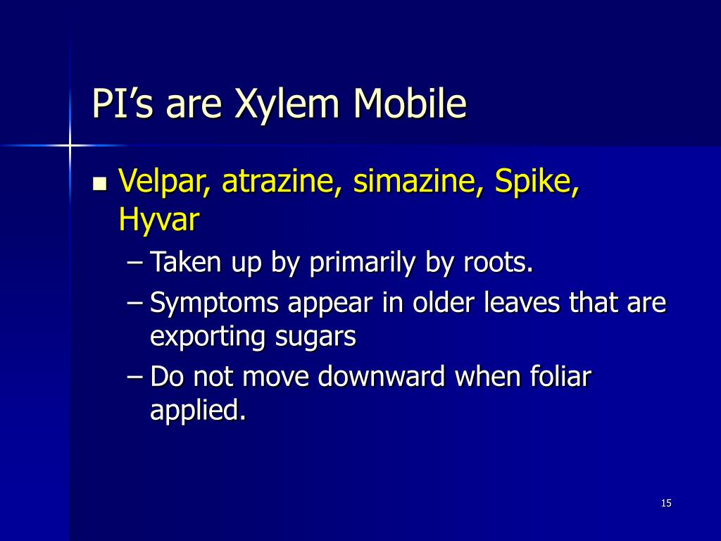 PI's are Xylem Mobile