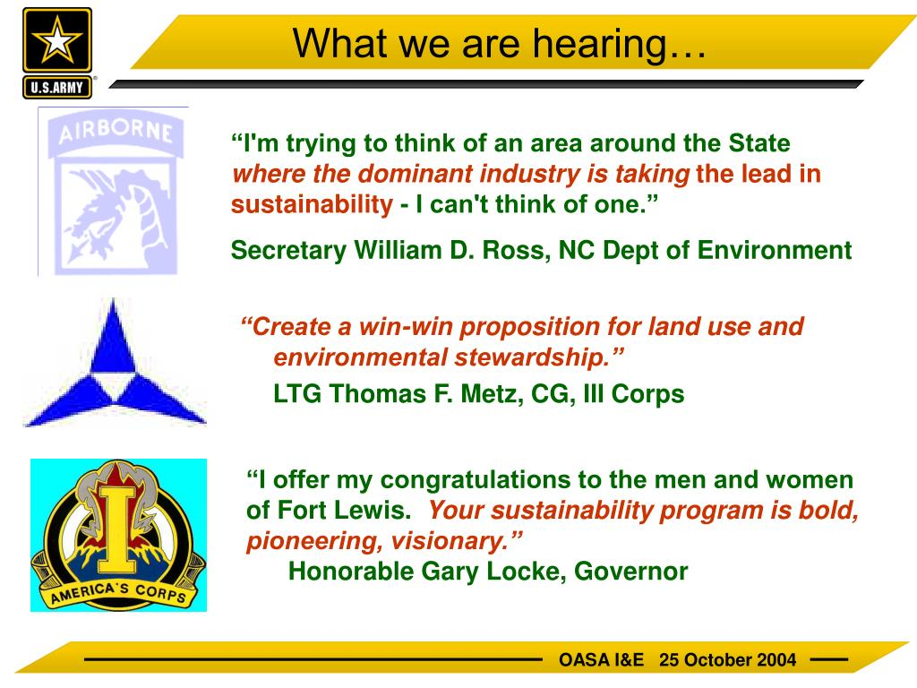 """Create a win-win proposition for land use and environmental stewardship."""