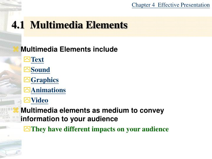 4 1 multimedia elements