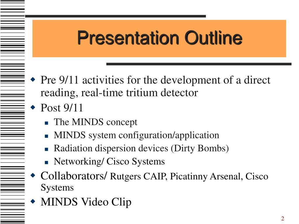 Presentation Outline