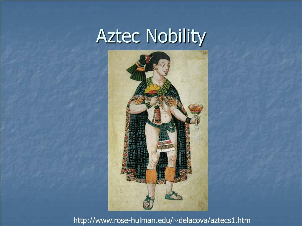 Aztec Nobility