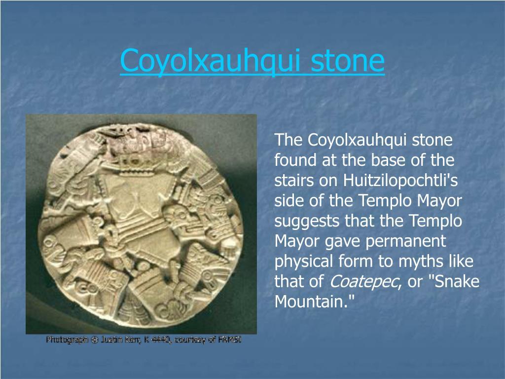 Coyolxauhqui stone