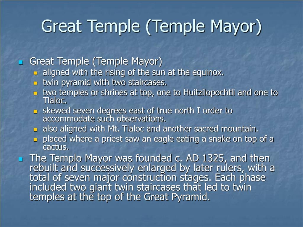 Great Temple (Temple Mayor)