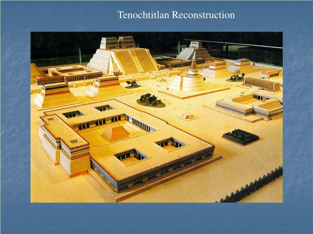Tenochtitlan Reconstruction