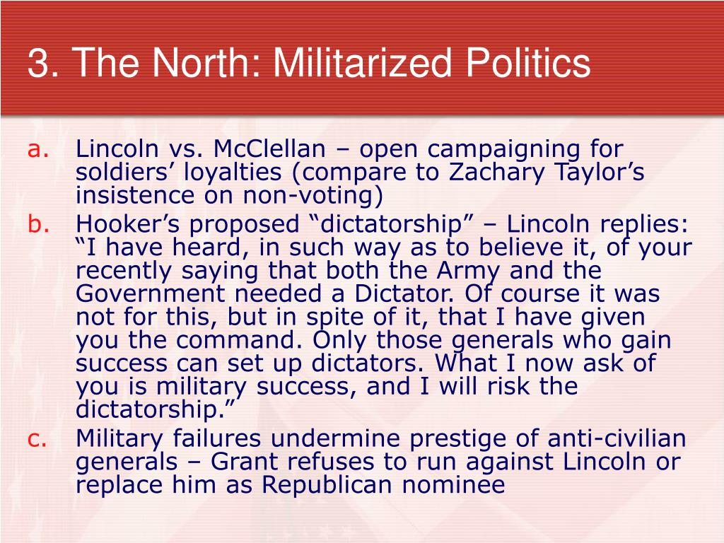 3. The North: Militarized Politics
