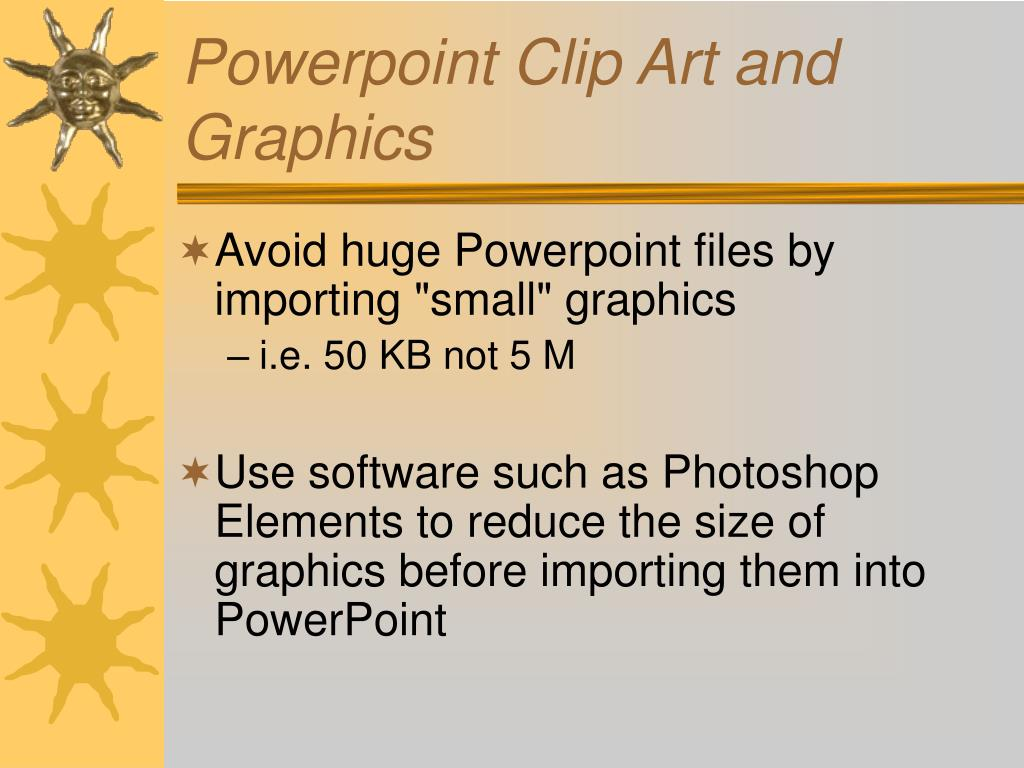 Powerpoint Clip Art and Graphics