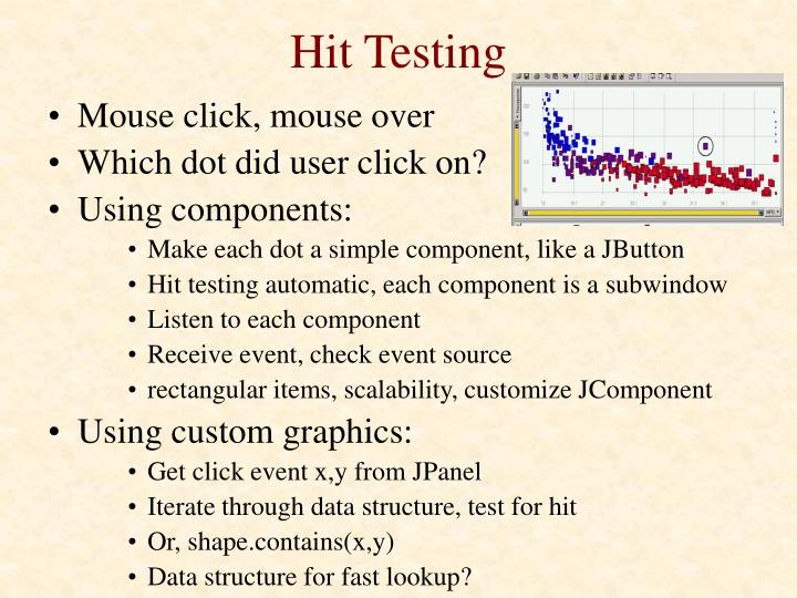 Hit Testing