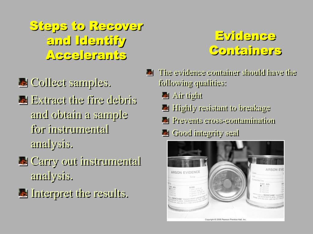 Evidence Containers