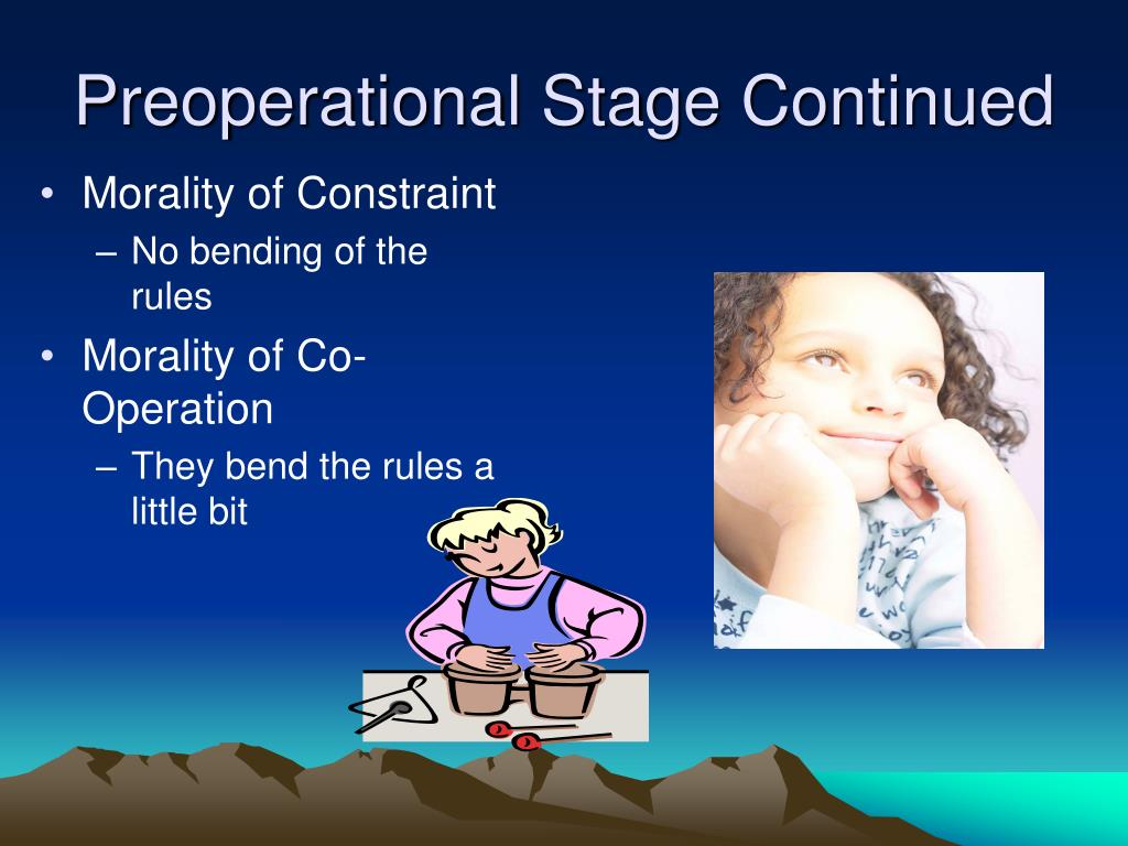 piagets pre operational stage The preoperational stage - the preoperational stage is one of piaget's stages of development visit howstuffworks to learn all about the preoperational stage.