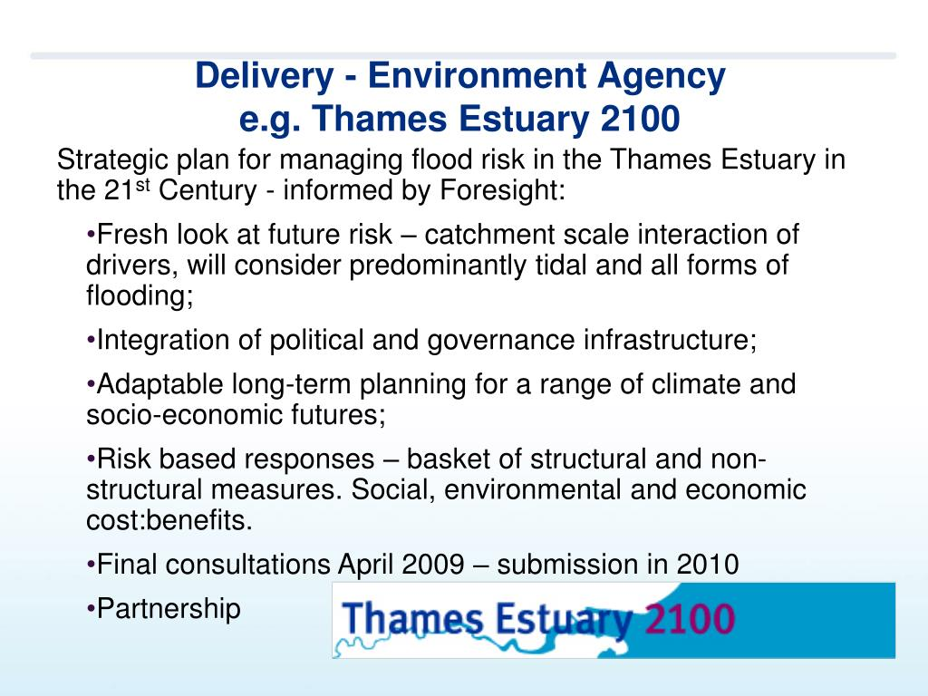 Delivery - Environment Agency