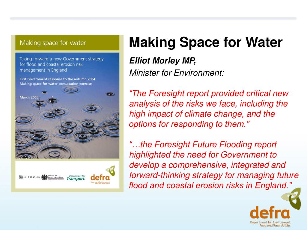 Making Space for Water