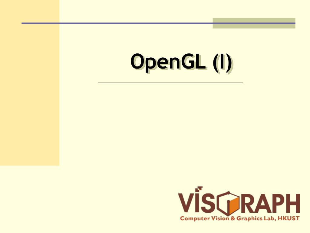 OpenGL (I)