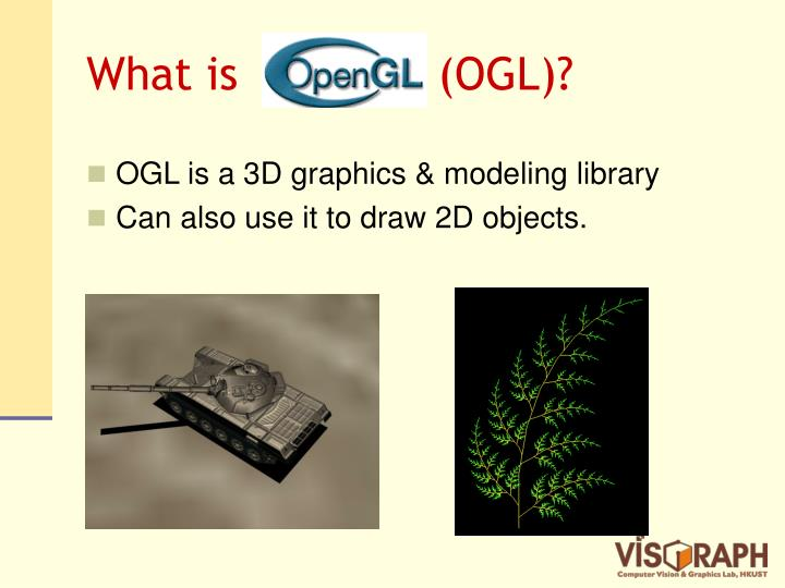 What is opengl ogl
