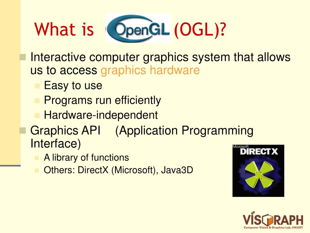 What is  OpenGL (OGL)?