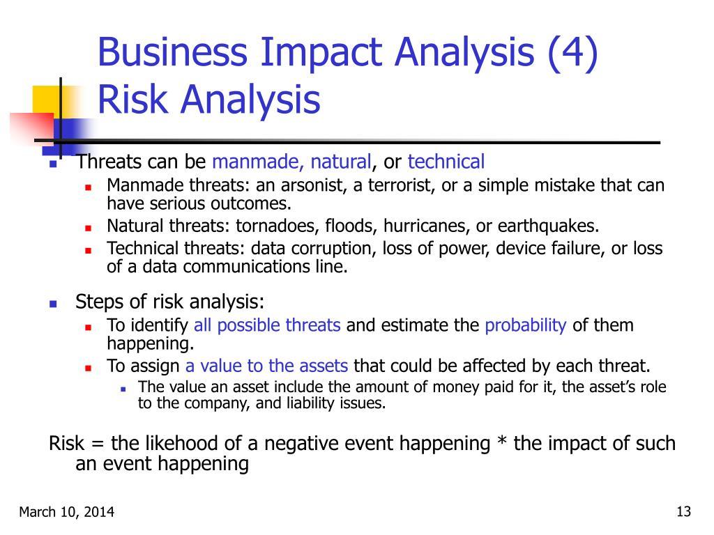 Business Impact Analysis (4)
