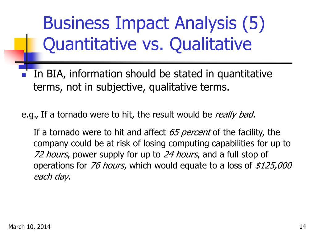 Business Impact Analysis (5)