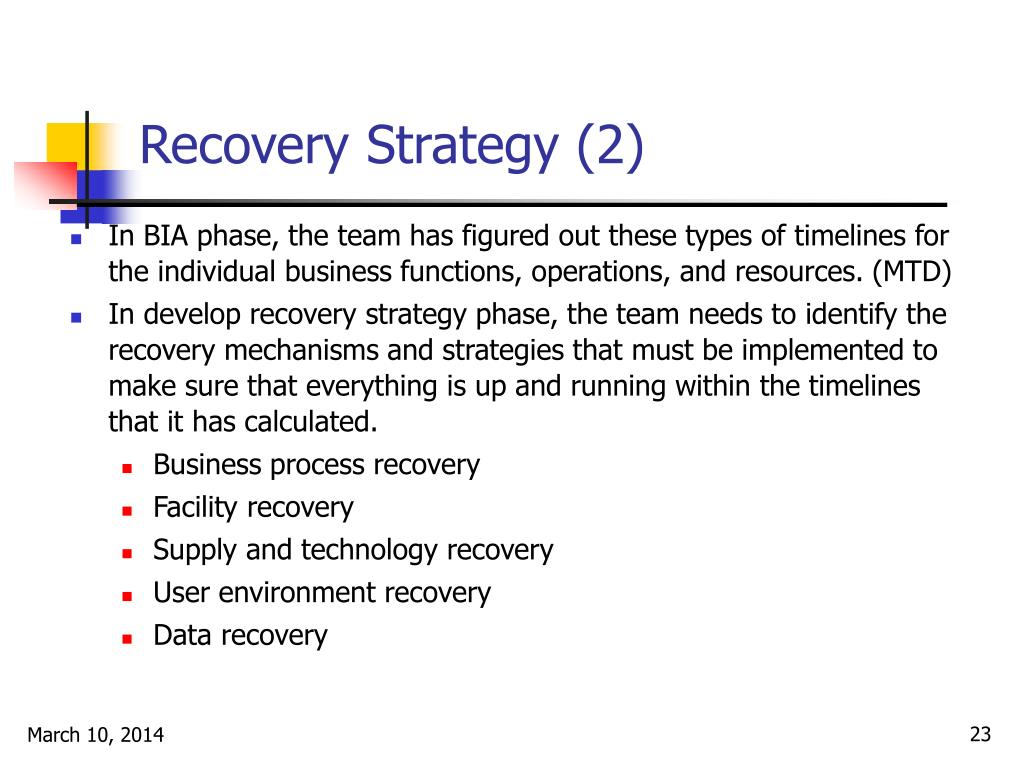 Recovery Strategy (2)