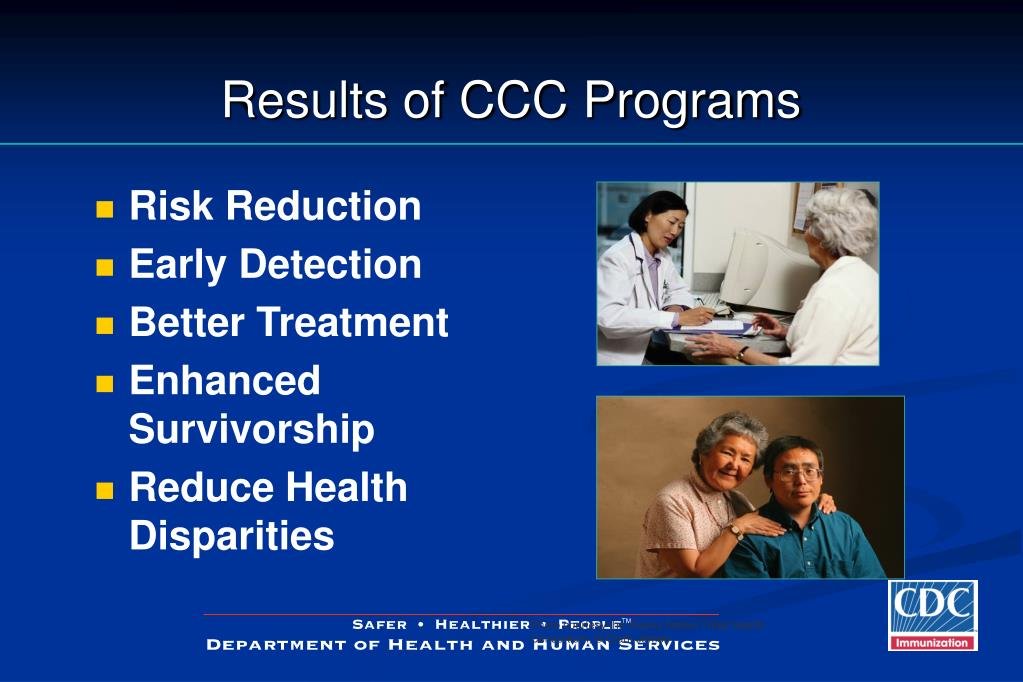 Results of CCC Programs