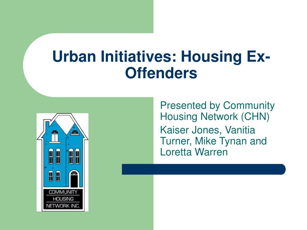 urban initiatives housing ex offenders