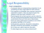 legal responsibility13