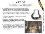 art of baroque rococo