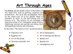art through ages