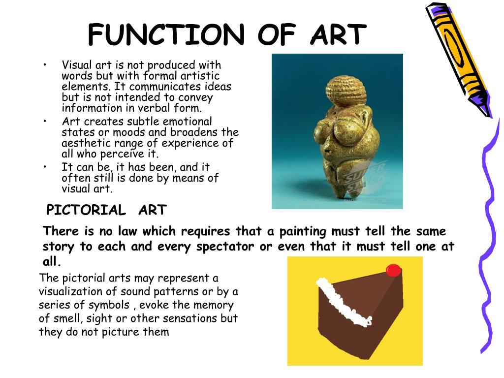 FUNCTION OF ART