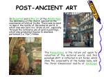 post ancient art